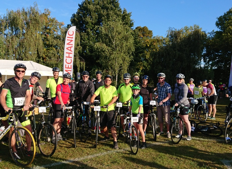 The Brave Green Gate Green Team Complete London to Brighton Ride