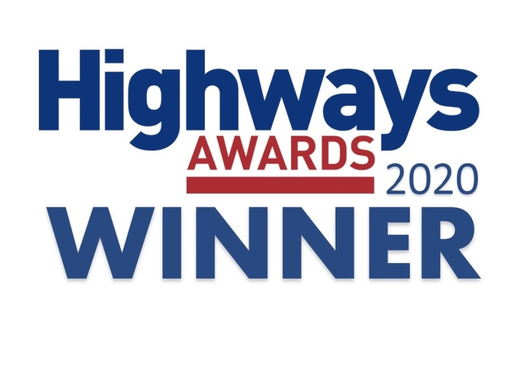 Highways 2020 Award Winner
