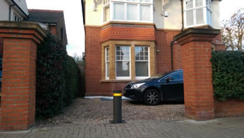 Green Gate Access Systems - Residential rising bollard