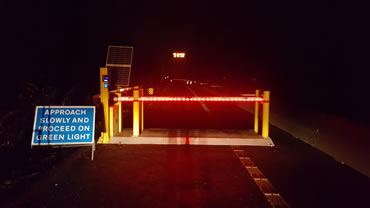 Green Gate Access Systems - SOSEC trial on M23 motorway