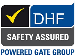DHF Powered Gate Group logo