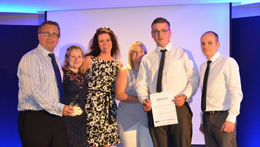 Green Gate Access Systems - The team collecting their award