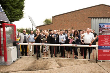 Green Gate Access Systems - Maidstone Mayor officially opening Green Gate