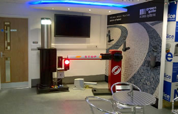Green Gate Access Systems - Showroom