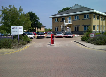 Fast, reliable speed barriers at Care UK