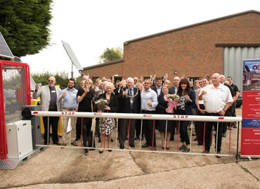 Celebrations as new showroom, training and manufacturing facilities opened
